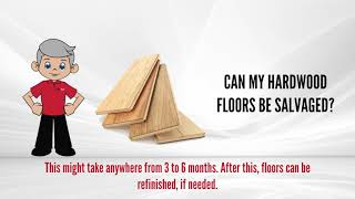 open video 13. Can Hardwood Flooring Be Salvaged?