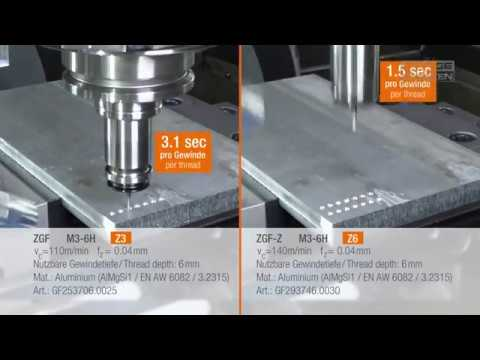 EMUGE ZGF - More diversity for milling small threads