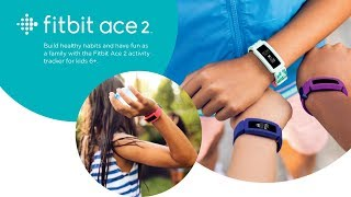 Introducing Fitbit Ace 2 | Activity tracker for kids 6+