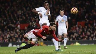 Manchester United Vs Sunderland  All Goals 31 Mkhitaryan Stunning Goal