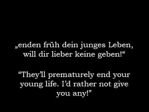 Svbway to Sallys 'Kleid Aus Rosen' (Akustisch Version) [English Lyrics]