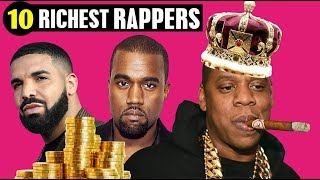 TOP 10 RICHEST RAPPERS IN THE WORLD (2019 - 2020) | Forbes List - Highest Net Worth | Pedia 10