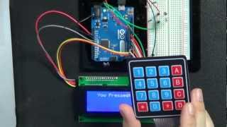 Keypad Input To An Arduino - Let's Make It - Episode 11