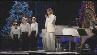 Andrea Bocelli - My Christmas - Astro del Ciel (Silent Night) Kodak theatre Los Angeles 2009
