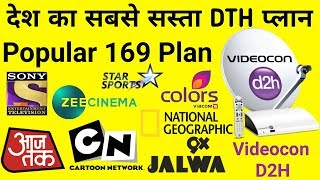 Videocon D2H New TV Channel Add Free To Air 2018 - Most
