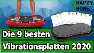 Vibrationsplatte für 2021 kaufen ➡️ Die 9 besten Vibrationsplatten im Vergleich [3 Preisklassen]