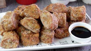 Super Yummy Teochew Crispy Prawn Rolls (Hei Zho) 虾枣 Chinese Prawn & Meat Roll Recipe