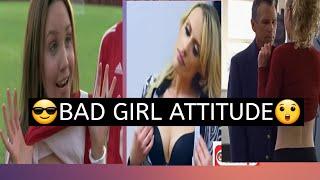😎Sexy Girl Attitude WhatsApp status video // 😲girl show her Boobs in public// bad girl Attitude