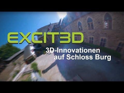 3D Innovationen auf Schloss Burg