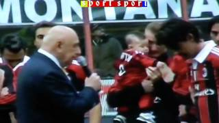 Gattuso, Inzaghi, Nesta, Zambrotta, van bommel: addio al milan