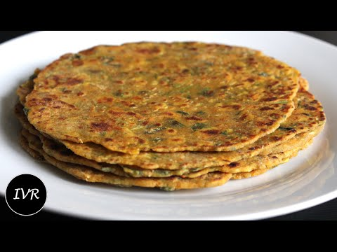 """Vegetable Thepla"" 
