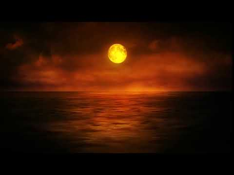 Футаж луна задний фон