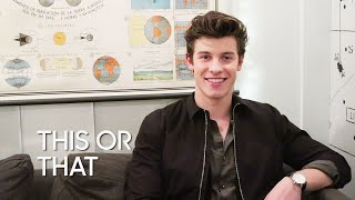 This or That: Shawn Mendes
