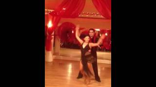 When Love Takes Over - Hustle Dance Routine - Nancy Bocanegra and Joel Caceres
