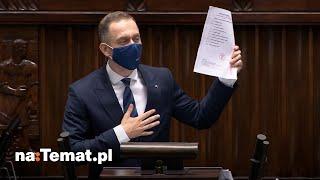 """Cezary Tomczyk ZAORAŁ PiS. Po jego przemówieniu ekipa """"dobrej zmiany"""" powinna się zapaść pod ziemię"""