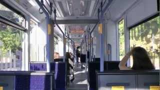 preview picture of video 'Straßenbahn Mainz - Mitfahrt Stadler Variobahn (2012) (HD)'