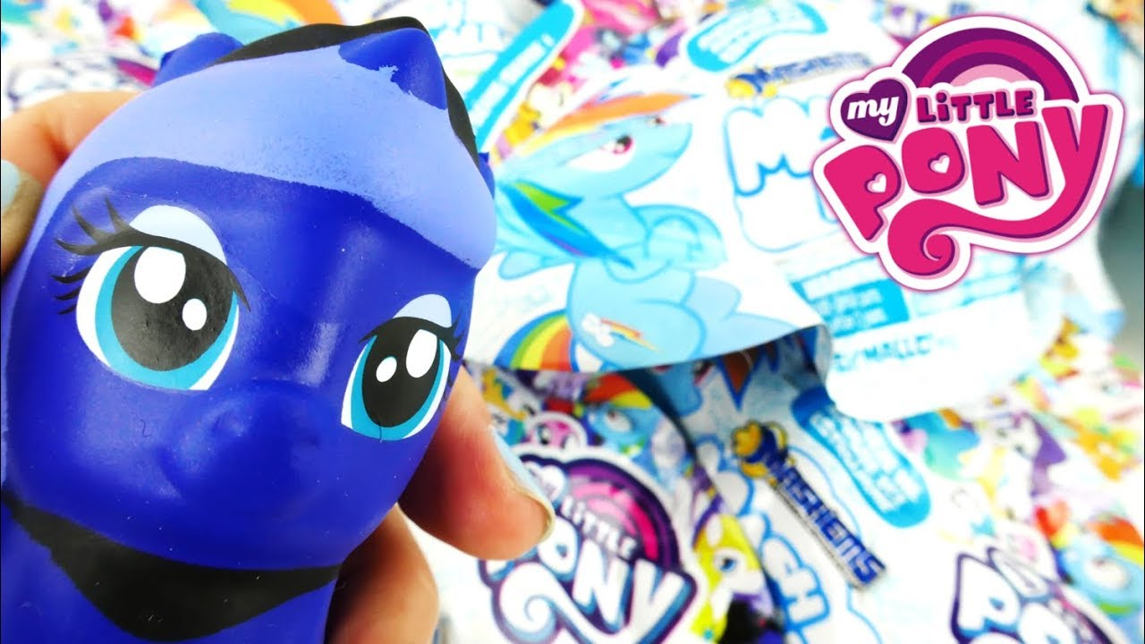 My Little Pony Mash Mallows Mashems MLP Squishies Blind Bags
