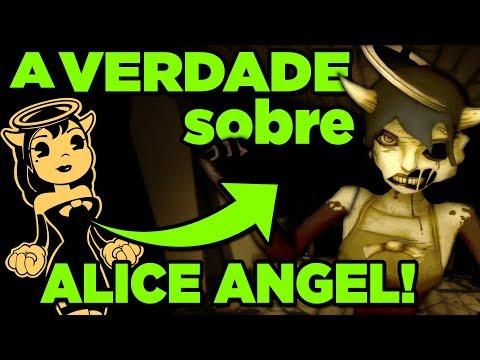 O GRANDE SEGREDO DE ALICE ANGEL! (BENDY and The Ink Machine)