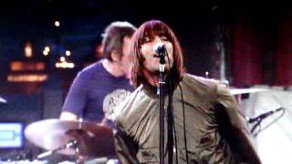 1. Beady Eye- Four Letter Word Live On Letterman