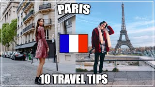 10 ESSENTIAL TRAVEL TIPS TO PARIS, FRANCE (Transportation, Money, Accommodations) 🇫🇷