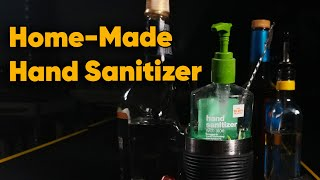 Can You Make Hand Sanitizer From Booze?