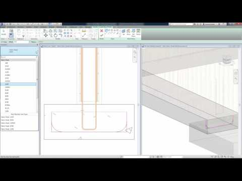 Revit 2017 - Bent Fabric Sheets Reinforcement