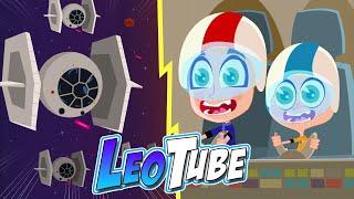 LeoTube Cartoons Batalla Galactica