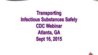Transporting Infectious Substances Inspection Processes