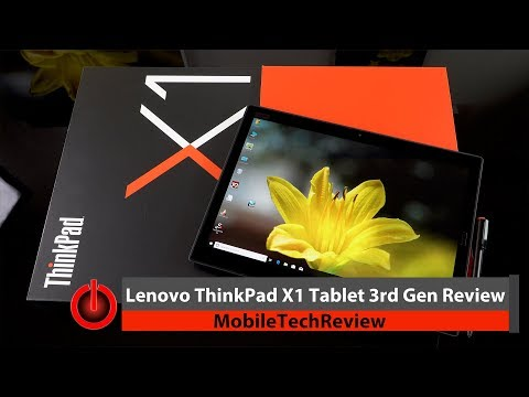 Lenovo ThinkPad X1 Tablet 3rd Gen Review