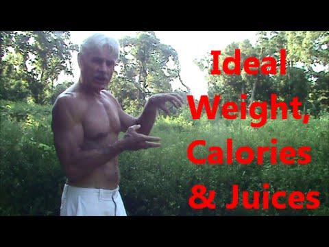 Video Ideal Weight, Calories & Juices
