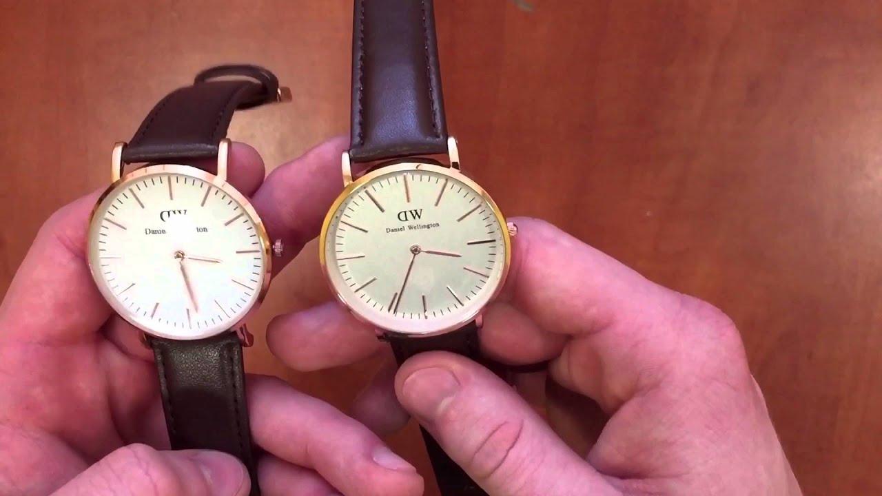 Видео часы Daniel Wellington