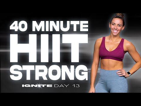 40 Minute Strong Workout