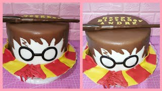 How To Make HARRY POTTER CAKE   Easy Cakes
