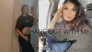 hang out w me || working out, boot barn + more