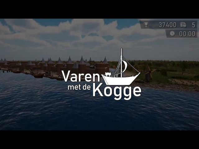 Varen met de kogge / Sailing with the kog