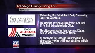 Talladega County Hiring Fair