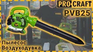 Пылесос-воздуходувка бензиновый Procraft PVB25