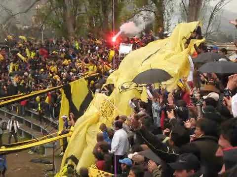 """""""union la calera 0 san luis de quillota 1 mario daniel pierani año 2009(existiamos)"""" Barra: Ultra Kanaria • Club: San Luis de Quillota"""