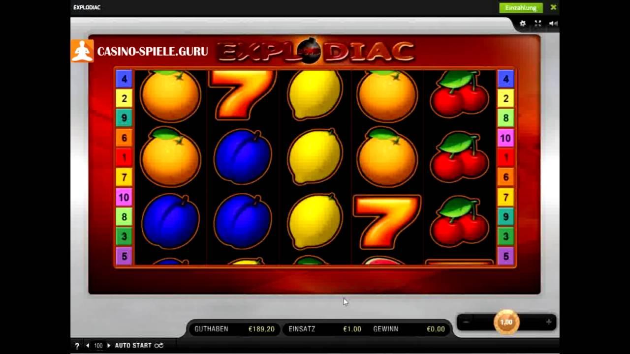 Fruchtige Sprengkörper: Explodiac von Bally Wulff