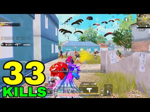 Download SUPER BEST GAMEPLAY of SEASON 14!! | 33 KILLS SOLO vs SQUADS | PUBG MOBILE HD Mp4 3GP Video and MP3