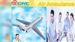 Air Ambulance Service in Lucknow and Varanasi by Medivic Aviation