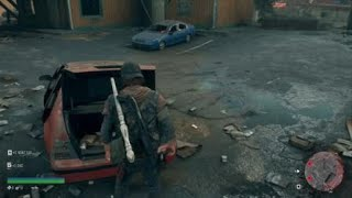 Days Gone Car Trunk