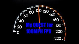 My quest for a 100MPH FPV freestyle drone/Quad. crash footage as well. #FPV