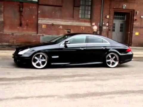MEC Design W219 CLS 500 CLS55 AMG + MEC Design wheels Mercedes Benz