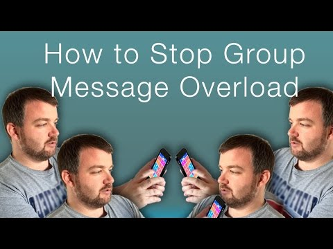 How to Turn Off Notifications on Group Messages