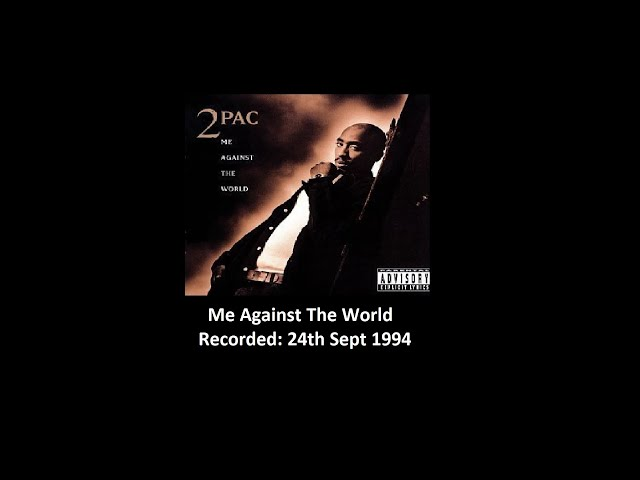 2pac Me Against The World Lyric Video