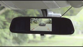 "Gator 4.3"" Rear View Mirror Mounted Reversing Camera // Supercheap Auto"