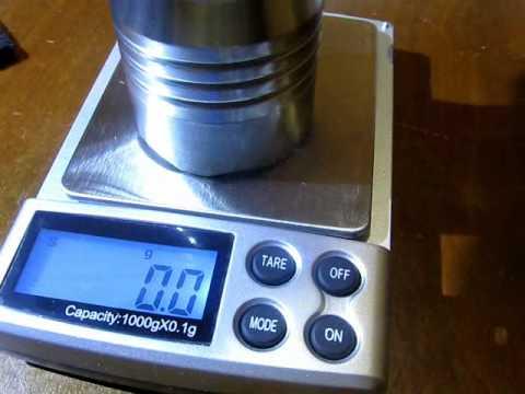 Mini Balanza Digital - Hasta 1000 gramos 0.1 gramos de sensibilidad - tienda8.cl