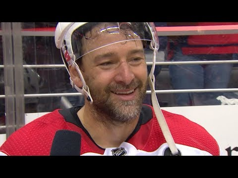 Justin Williams tearfully breaks down Game 7 win