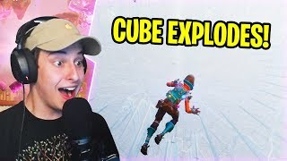 *NEW MAP* CHANGE IN FORTNITE BATTLE ROYALE (Cube Event  & Island)